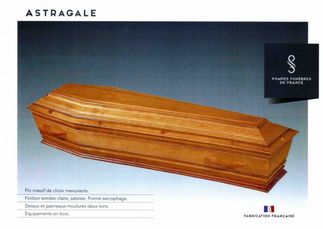 Cercueil Crémation Astragale