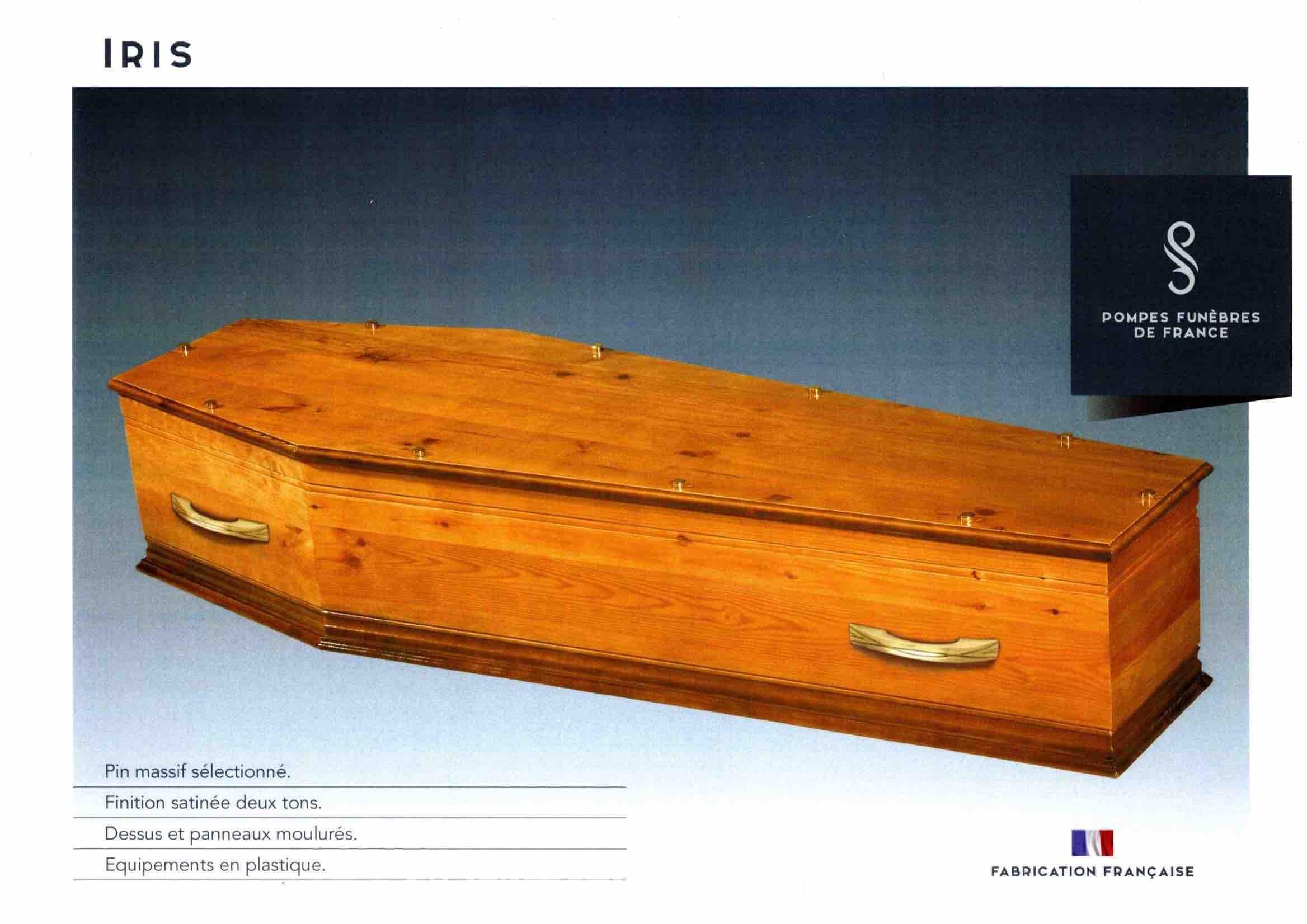 Cercueil Crémation Iris