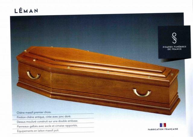 Cercueil Inhumation Léman