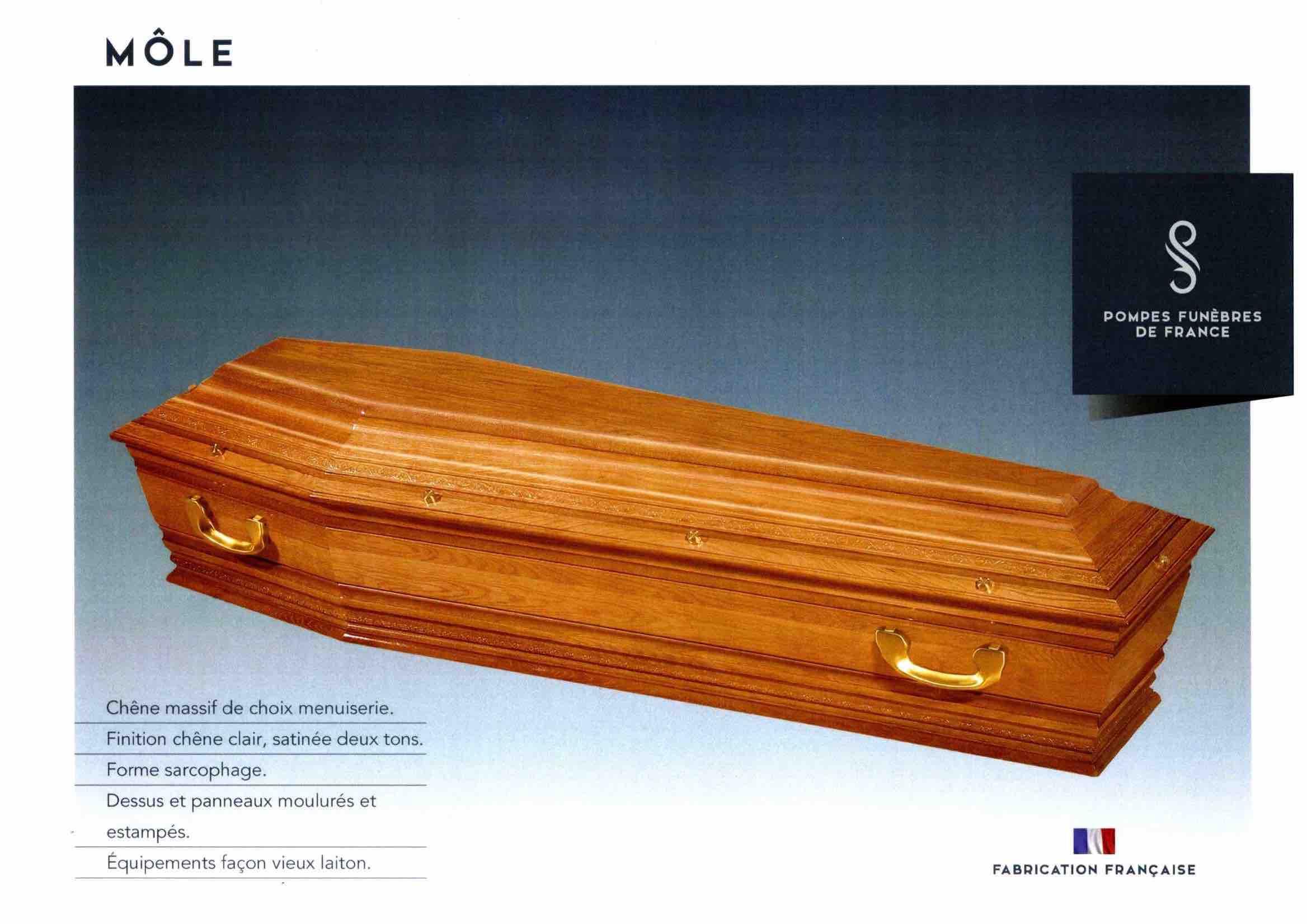 Cercueil Inhumation Môle