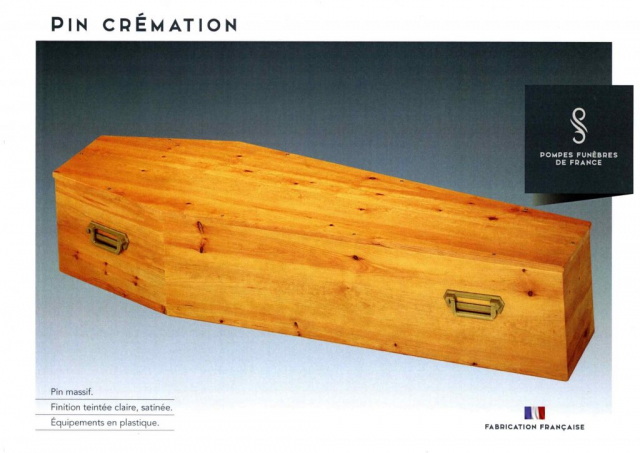 Cercueil Pin Crémation