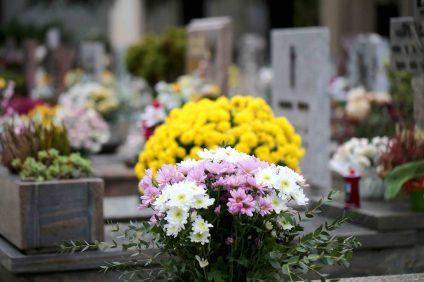 toussaint tombe cimetière